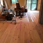 マンション,リノベーション,無垢,床材,杉