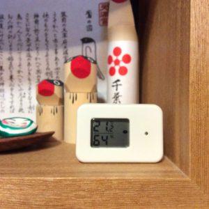 温湿度計、無印良品、タグツール