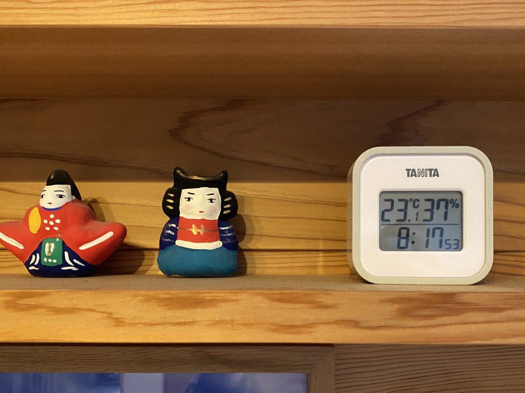 山暮らし 温度計